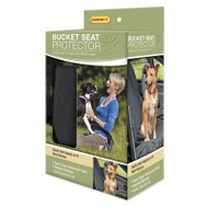 Westminster Pet 82520 Ruffin It Super Tough Waterproof Automotive Bucket Seat Protector