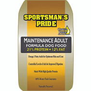 Sunshine Mills 10110 Sportsmans Pride Sprtpr Maintenance Adult Dog Food 50 Pound
