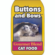Sunshine Mills 10226 Buttons & Bows 18 Pound Buttons And Bow Gourmet Cat Food