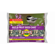 Global Harvest 11932 Food Bird Cake Nut/Fruit 2.4 Pound
