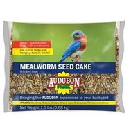 Global Harvest 12486 Food Bird Cke Seed Mlwrm 1.5 Ounce