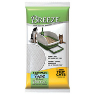 Tidy Cats 12724 Tidy Cats Breeze Cat Pads 4 Pack