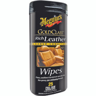 Meguiars G10900 Gold Class Leather Wipes