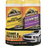 Armor All 18779 Wipes Clning/Prtct Cmb 25Ct Ea 2 Pack