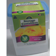 Arrow Plastic 04505 Stor-Keeper 1/2 Gallon Container