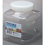 Arrow Plastics 00738 Stor Keepers Contnr Stor-Keepr Stack 80 Oz
