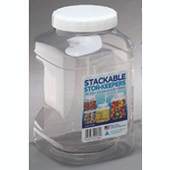 Arrow Plastics 00739 Stor Keepers Contnr Stor-Keepr Stack 128 Oz