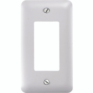 American Tack & Hardware 935RW Single Rocker Gfi Wall Plate White