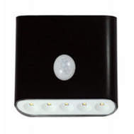 AmerTac LG3101B-N1 Westek 40 Lumen Battery Operated Outdoor Sconce Light Black