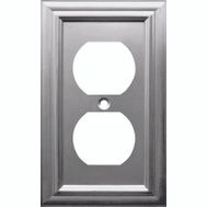AmerTac 163TDB Amerelle Century Toggle Switch Wall Plate 1 Gang Aged Bronze