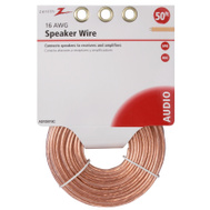 American Tack & Hardware AS105016C Zenith Wire Speaker 16Gau 50Ft Clear