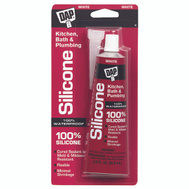 Dap 7079800750 White Silicon Bathtub Caulk