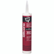 Dap 08648 Kitchen And Bath Clear Sealant 100 Percent Silicone