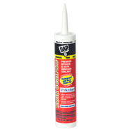 Dap 18510 Kwik Seal Plus Premium Kitchen And Bath Adhesive Caulk With Microban 10.1 Ounce White Caulk