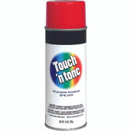 Rust-Oleum 55270830 Touch n Tone Cherry Red Gloss All Purpose Spray Paint