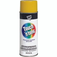 Rust-Oleum 55272830 Touch n Tone Canary Yellow Gloss All Purpose Spray Paint