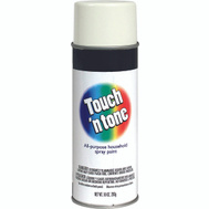 Rust-Oleum 55274830 Touch n Tone White Gloss All Purpose Spray Paint
