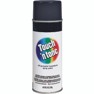 Rust-Oleum 55276830 Touch n Tone Black Gloss All Purpose Spray Paint
