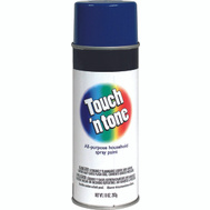 Rust-Oleum 55278830 Touch n Tone Royal Blue Gloss All Purpose Spray Paint