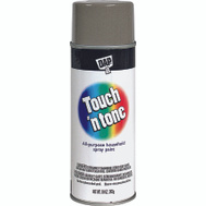 Rust-Oleum 55279830 Touch n Tone Gray Gloss All Purpose Spray Paint 10 Ounce