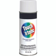 Rust-Oleum 55280830 Touch n Tone White Flat All Purpose Spray Paint