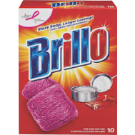 Armaly 23310 Brillo 10 Pack Steel Wool Soap Pad