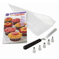 Wilton 2104-7552 Cupcakes Decor Book Set