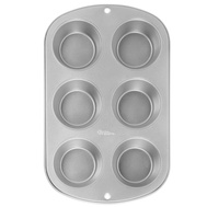 Wilton 2105-953 6 Cup Regular Muffin Pan