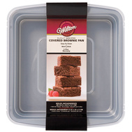 Wilton 2105-9199 9 Inch By 9 Inch Covered Brownie Pan