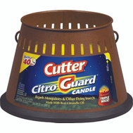Spectrum 51032 Cutter Citroguard 20 Ounce Insect Repellent Triple Wick Candle