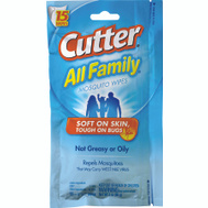 Spectrum HG-95838 Cutter 15 Count Insect Repellent Wipes