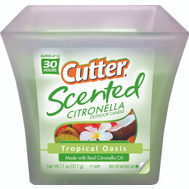 Spectrum HG-96230 Cutter Candle Tropical Oasis Scnt 11 Ounce