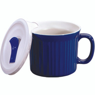 Corelle Brands 1105119 Corningware 20 Ounce BLU Pop Ins Mug