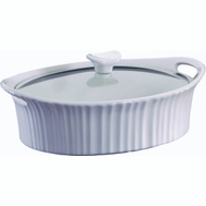 Corelle Brands 1105935 Corningware 2.5Qt Oval Casserole Dish And Cover