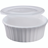 World Kitchen 1114931 Baking Dish French White 16 Ounce
