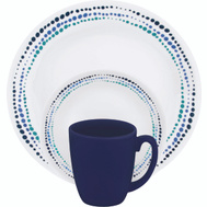 World Kitchen 1119403 Dinnerware 16Pc Ocean Blue