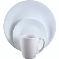 World Kitchen 6022003 Dinnerware 16Pc Frost White