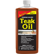 Star Brite 85116PW 16 Ounce PRM Teak Oil