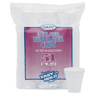 R3 951HW 8 1/2 Ounce 51 Ct Foam Cups