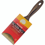 Wooster Q3118-3 Golden Glo Nylon Polyester Blend Varnish And Wall Brush 3 Inch