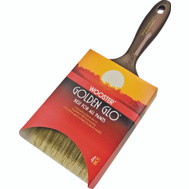 Wooster Q3118-4 Golden Glo Nylon Polyester Blend Varnish And Wall Brush 4 Inch