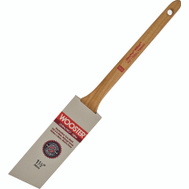 Wooster 4181-1-1/2 Ultra Pro Firm Nylon Polyester Firm Blend Thin Angle Sash Brush 1-1/2 Inch