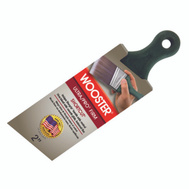 Wooster 4187-2 Ultra Pro Firm Nylon Polyester Angle Shortcut Shergrip Brush 2 Inch
