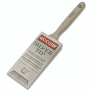 Wooster 5220-2-1/2 Silver Tip Soft Polyester Flat Sash Brush 2-1/2 Inch