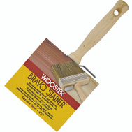 Wooster F5119-4-3/4 Bravo Stainer Bristle Polyester Blend Stainer Brush 4-3/4 Inch