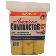 Wooster R568-9 Cover Paint Roller 9X3/8In 3Pk 3 Pack