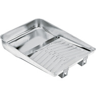 Wooster R402 Deluxe 11 Inch Deluxe Metal Roller Tray For 9 Inch Rollers