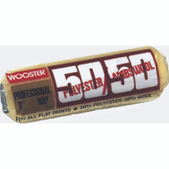 Wooster R295-9 50 50 9 Inch 1/2 Inch Nap Polyester Lambswool Roller Cover