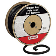 Lehigh Group BKSBP860 Derby 3/8 X 600 Black Solid Derby Rope