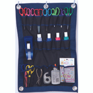 Crawford FT1 Flexible Wall Hanging Tool Organizer 24 By 16 Inch Blue Black